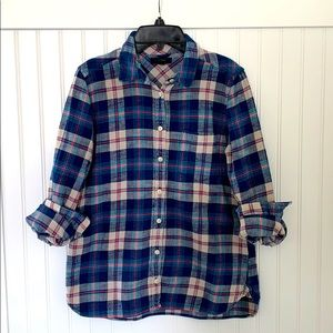 J.crew plaid flannel